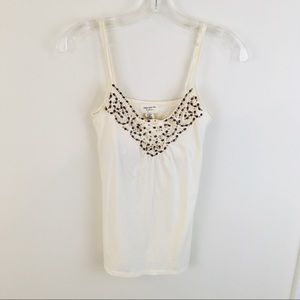 Abercrombie and Fitch Beaded Tank Top